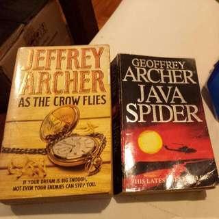 Jeffrey Archer - As The Crow Flies Geoffrey Archer - Java Spider