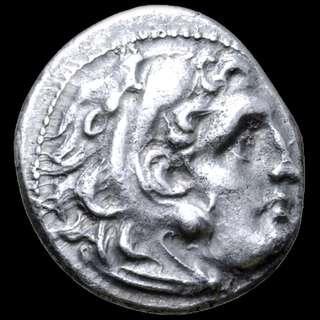 Alexander III 'the Great', Kingdom of Macedon, Ancient Silver coin, 310-301 BC