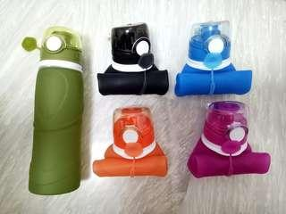 Silicon Collapsible Water Bottle
