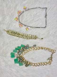 Necklaces & bracelet