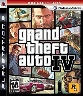 Grand Theft Auto 4 - PS3 Region 1