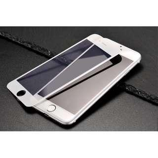 iPhone 7/8 FULL white 5D tempered glass
