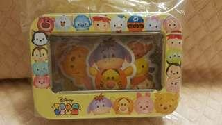 tsum tsum鐵盒裝立體貼紙💖包平郵