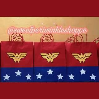 Wonderwoman Loot Bags