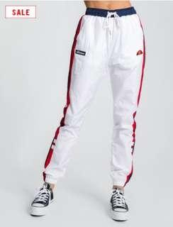 ELLESSE Folgarida Track Pants in Optic White