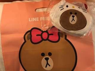 Line Friends x Hello Kitty Bag