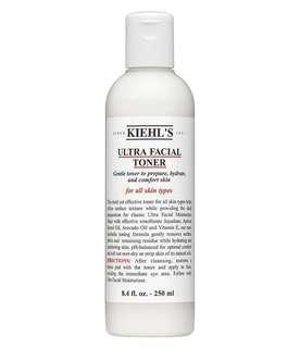 Kiehl's ultra facial toner preloved 60% left #oct10