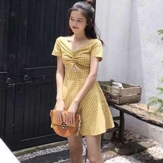 Checkered dress #OCT10