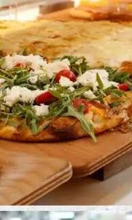 PIzza for POP UP Cafe