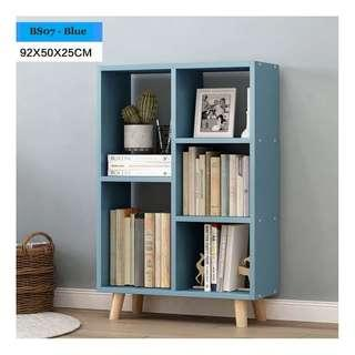 🚚 Bookshelf - Blue