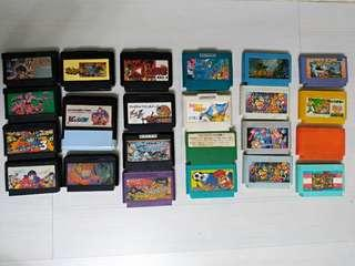 🚚 任天堂 懷舊 遊戲卡帶 23卡帶 老公的百寶箱