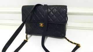 #Chanel bagpack caviar skin 😍Rare item