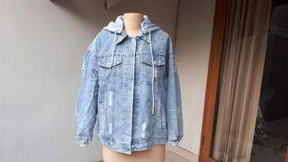 Denim Jacket Import Korea