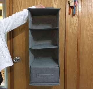 衣櫃布掛架(連一個小櫃桶)