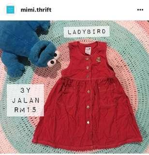 Dress (Brand : Ladybird) , 3y #OCT10