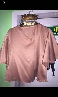 TURUN HARGA blouse gold
