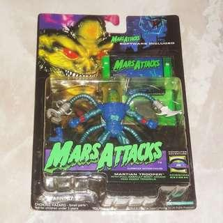 Mars Attacks Martian Trooper Action Figure 1996 Trendmasters