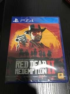 (Brand New Sealed) Red Dead Redemption 2 for PS4