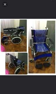 BLUE Wheel chair max weight is 140kg