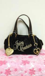 🚚 Juicy Couture正品天鵝絨肩背包