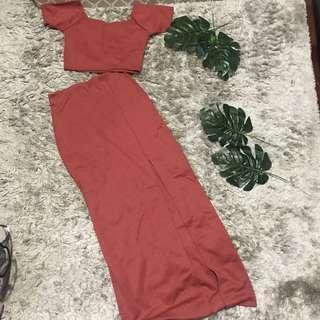 Long Terno Dress