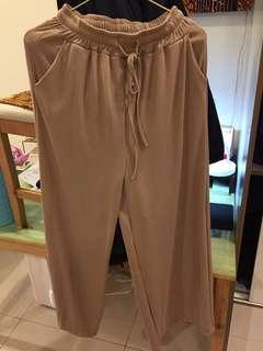 寬鬆韓國版型褲 全新