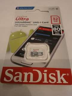 SanDisk ULTRA MICRO sd 32gb
