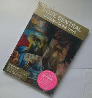 (全新) 日版初回 Dreams Come True DCT Love Central 大碟