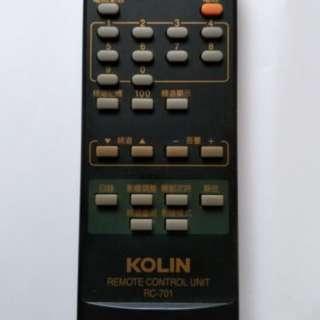 歌林原廠電視搖控器