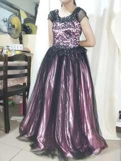 GOWN FOR RENT (BLACK&PINK)