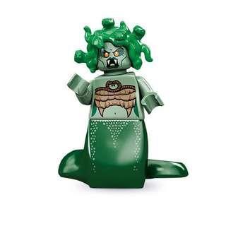 Lego Medusa Minifigure from series 10 minifigure