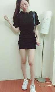 🚚 露背長版洋裝