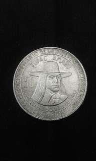 1971 Peru Lima Tupac Amati 50 Soles (Silver)