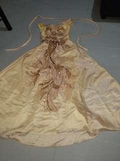 YELLOW GOWN FOR RENT