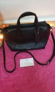 ** MARKED DOWN ** AUTHENTIC COACH LEATHER BAG
