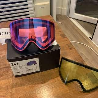 Electric Gloss White Snow Ski Goggles