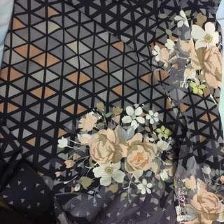 Ariani printed instant shawl