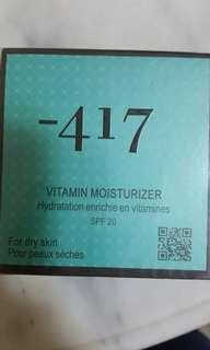 -417 vitamin moisturizer for dry skin