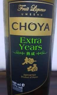 Choya Extra Years Fruit Liquor