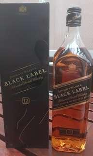 Johnnie Walker Black Label Whisky 1L