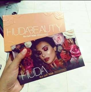 💯 ORIGINAL HUDA BEAUTY ROSE GOLD REMASTERED
