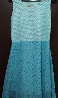 Light blue Chiffon dress