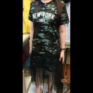 Dress Army Tile