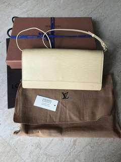 Authentic Louis Vuitton epi cowhide leather