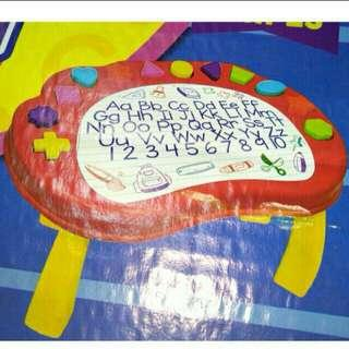 SALE ( Activity Table with Detachable Shapes )