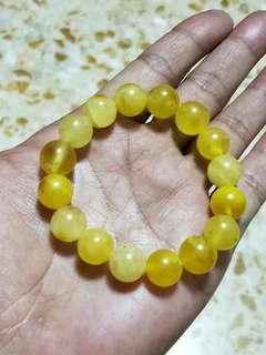 Natural Baltic Amber bracelet 16.2g