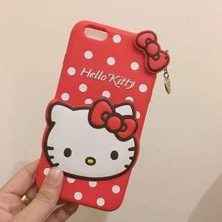 🚚 I phone6/6s 5.5吋Hellokitty手機防摔軟殼