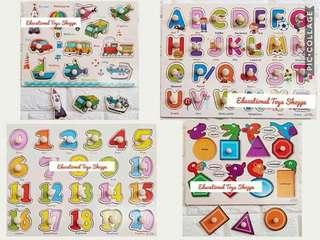 Educational Toys Peg Puzzles