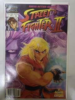 TOKUMA COMICS STREET FIGHTERS II #7