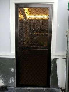 Aluminum Screen Door and Sliding Window